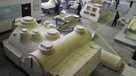 Модельная оснастка из дерева